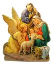 聖誕禮物裝飾擺設-聖誕馬槽木牌