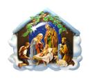 聖誕馬槽木牌-聖誕裝飾擺設