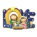 聖誕禮物裝飾擺設-馬槽擺設(Love)