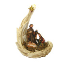 聖誕禮物裝飾擺設-馬槽聖家