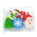 聖誕小禮物-聖誕造型擦膠