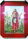 十字繡掛畫(牧羊人)