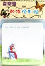 磁石貼+50張便利貼(Lord is my shepherd)