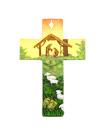 掛牆聖家十字架(黃色)