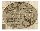 仿石經文擺設 (Faith)