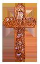 10吋掛牆十字架