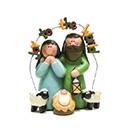 聖誕擺設-馬槽聖家-普世歡騰