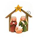 聖誕擺設-馬槽聖家-常喜樂