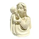 陶瓷聖母耶穌座