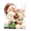 聖誕擺設-雪人-有愛