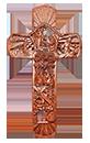 12吋掛牆十字架