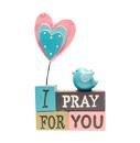 I Pray For You座檯飾物