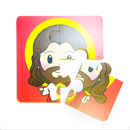 聖人拼圖小遊戲