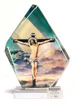 水晶十字架苦像