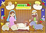 聖誕小手工-「層層疊貼貼樂」聖誕馬槽小手工