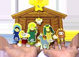 聖誕小手工-「聖誕劇場」迷你紙手偶小手工