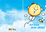 橙仔a4 folder(Fly High With Jesus)