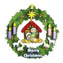 聖誕小手工-「將臨環吊飾」小手工